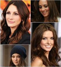 black hair w chestnut highlights hairstyle picture magz
