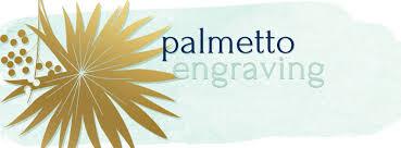 palmetto engraving charleston ornaments home