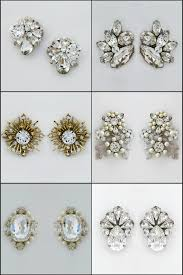 post style earrings bridal earrings the best earrings for your shape