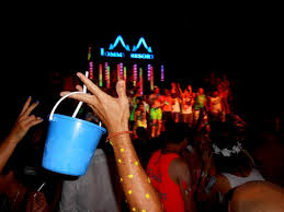 full moon party buckets are a cheap convenient and a great way to