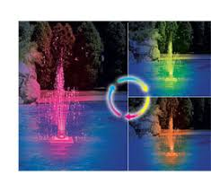 Floating Pool Light Pool Fountains Add A Decorative Touch And The Soothing Effects