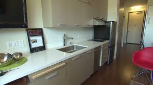 390 square feet inside a 295 square foot apartment video personal finance