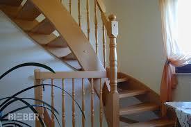 gelã nder treppe viertelgewendelte treppen tischlerei treppenbau gunter bieber