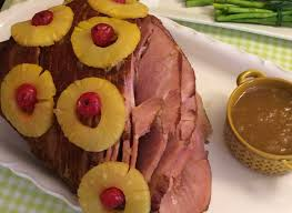 recipe for thanksgiving ham with pineapple holiday ham with pineapple glaze the petite gourmande