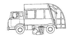 garbage truck coloring pages for preschool preschool crafts