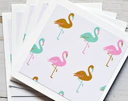 tropical cards etsy