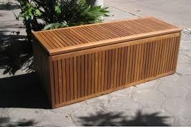 Garden Storage Bench Home Teak Outdoor Storage Bench U2014 Railing Stairs And Kitchen