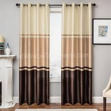 Long Drapery Panels Interior U0026 Decoration Long Curtains By Taupe Curtains