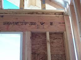 How To Frame A Door Opening How To Frame A Garage Door Opening Wageuzi