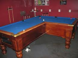 l shaped pool table 10 weird shaped pool tables pool table tables and man caves