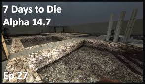 Farm Blueprints 7 Days To Die Alpha 14 7 Castle Build Blueprints And Farm S1