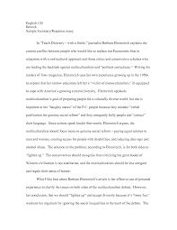 sample of essay writing pdf response essay example quality cover letter essay sample summary essay example summary response essay critical response essay format summary and bakery chef cover letter example critique examples
