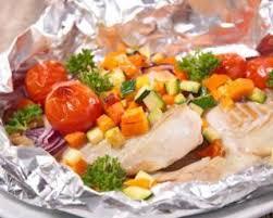 recette de cuisine legere pour regime recette de papillote de cabillaud aux légumes ensoleillés pour
