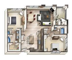 Small Flat Floor Plans by Outstanding Floor Plans For Small Studio Apartments Images Design