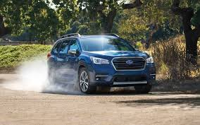 subaru suv white presenting the 2019 subaru ascent suv subaru