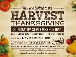 halmer end methodist church harvest thanksgiving