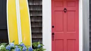 painting front door design ideas with spray paint the front door in