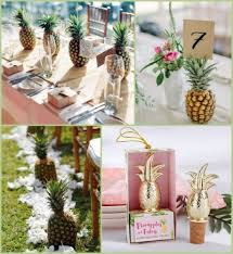 tropical themed wedding pineapple inspired tropical wedding ideas hotref party gifts