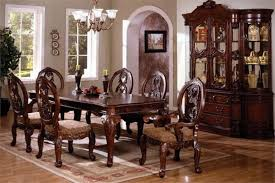 dining room adorable solidod formal furniture table cherry