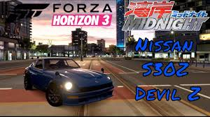 devil z engine forza horizon 3 devil z wangan midnight youtube