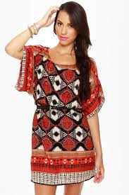 print dress tribal print dress sleeve dress 48 00