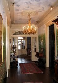 Plantation Homes Interior Design Houmas House Plantation Main House Interior Entrance Hallway