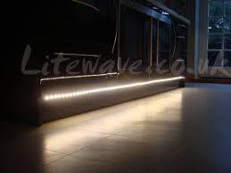 Led Lights For Kitchen Plinths Led Installed In A Customer S Kitchen