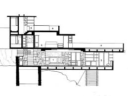 falling water house plans and elevations arts