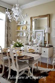 Best Painted Dining Room Sets Images On Pinterest Chairs - Shabby chic dining room set