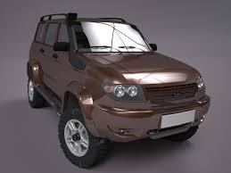 uaz hunter interior uaz patriot off road version 2 3d model cgtrader