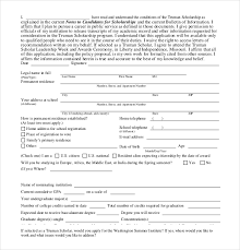 templates for scholarship awards 15 scholarship application templates free sle exle format