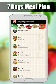 gm diet 7 days weight loss android apps on google play