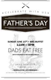 fathers day promo flyer fathers day flyers