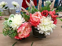 Diy Flower Arrangements Diy Boho Flower Arrangement A Night Owl Blog