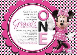 colors minnie mouse 2nd birthday invitations together with