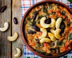 cuisiner haricots rouges recette de gratin d épinards et de haricots rouges aux noix de cajou