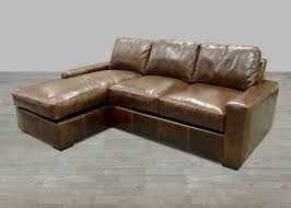 Chaise Sofa Lounge by Leather Sectional Artisan Leather Sectionals Living Room Leather