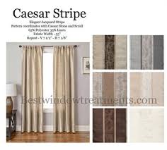 2 Tone Curtains Shop Curtains By Color Linen Ivory Chagne