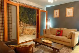 modern apartment interior design kitchen living room royal wooden