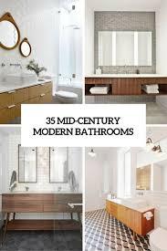 Mid Century Modern Bathroom Vanity Best 20 Mid Century Bathroom Ideas On Pinterest Mid Century