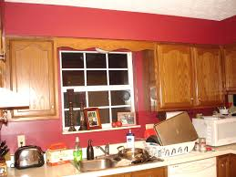 kitchen red cabinets kitchen wall color ideas with oak cabinets think carefully done