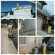 pressure house washing exterior concrete cleaning wood
