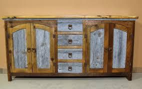 Barn Wood Sofa Table by Barn Wood Buffet Four Drawer U2014 Barn Wood Furniture Rustic