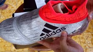 Jual Adidas Anak sepatu bola adidas x 16 purchaos fg silver s79511 unboxing