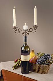 wine bottle candelabra tripar international inc