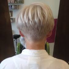 short hair back images love the back view of this cut short hairstyle pinterest