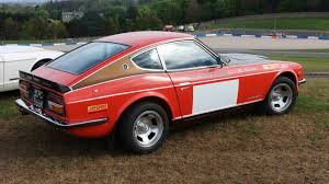 1972 nissan datsun 240z 1971 datsun 240z super samuri being auctioned at barons auctions