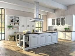cuisine boulanger hottes aspirantes cuisine cuisine blanche sous le feu des