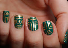 striping tape nail art nail art
