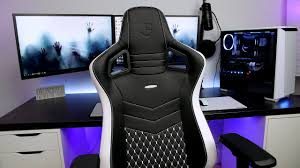 Ultimate Game Chair Noblechairs Epic Series Real Leather Chair Review Ultimate